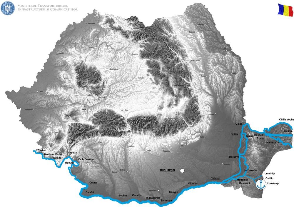 """harta Implementare unei dane specializate într-o zonă cu adâncimi mari (Dana 80)"""""""