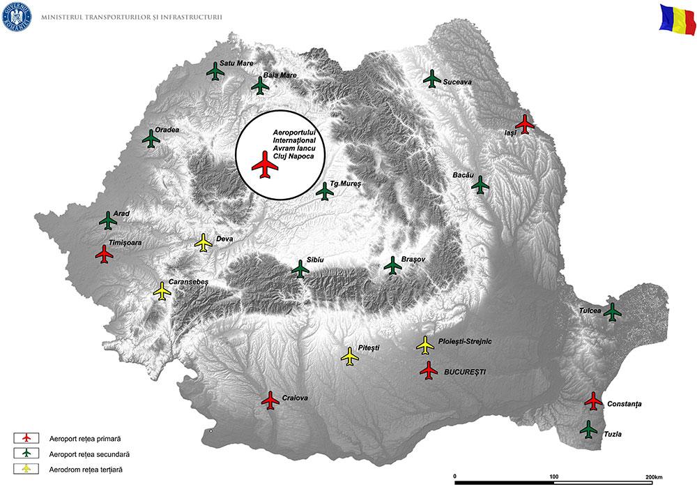 harta Dotare cu echipamente și facilități PSI și urgențe medicale