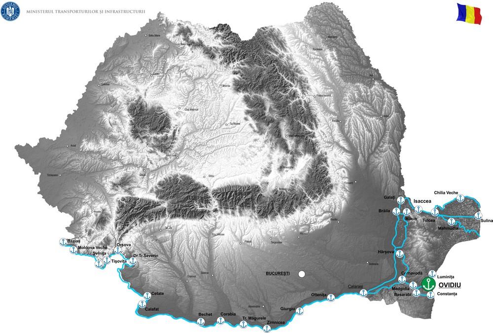 harta Modernizare si extindere capacitate de operare in Portul Ovidiu