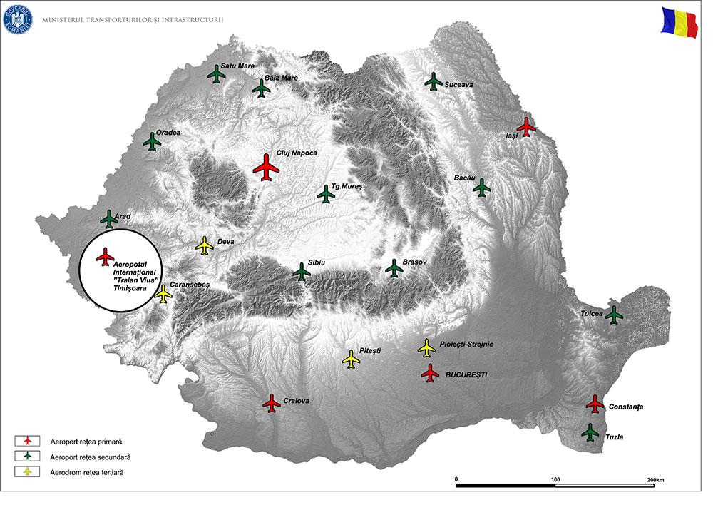 harta Terminal plecări curse externe